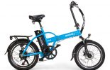 אופניים חשמליים lynxcycle מבית מגנום בצבע תכלת 4