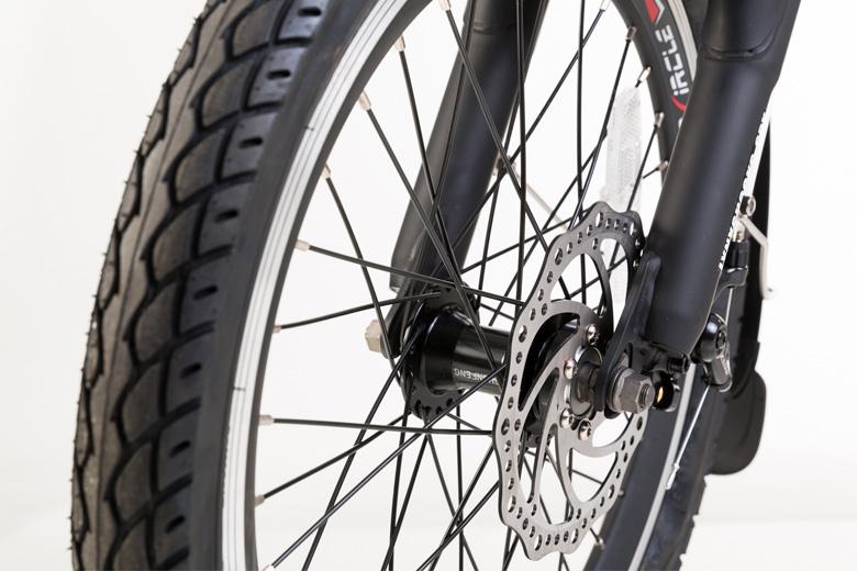 גלגל קדמי של אופניים חשמליים lynxcycle