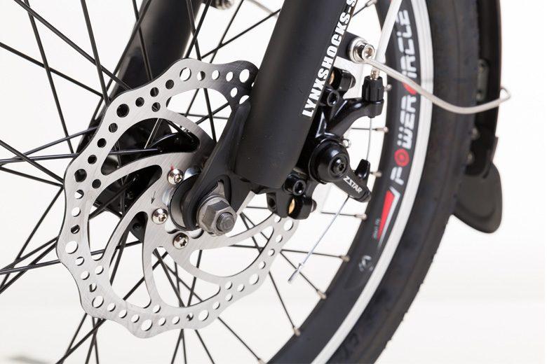 גלגל אחורי של אופניים חשמליים lynxcycle