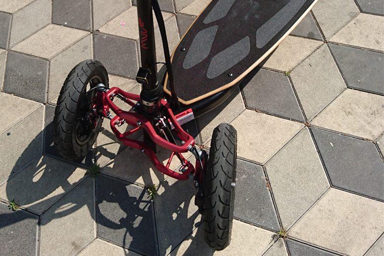 גלגלים של Muve v2 ,תלת גלגל