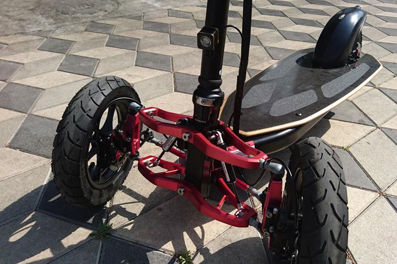 גלגלים קדמיים של Muve v2