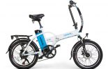 אופניים חשמליים lynxcycle מבית מגנום בצבע לבן תכלת 0